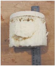 اسپری فوم با دانسیته پایین بر روی یک سطح سرد