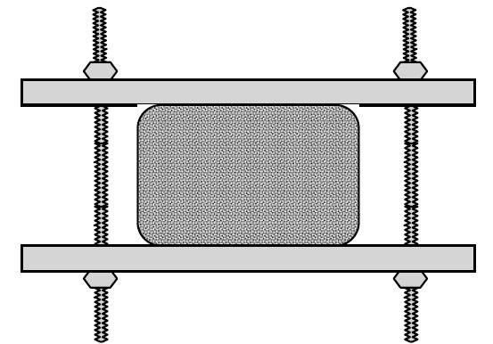 تست مانایی فشار فوم پلی یورتان (compression set)